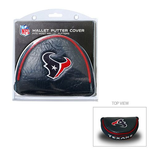 Team Golf Houston Texans Mallet Putter Cover