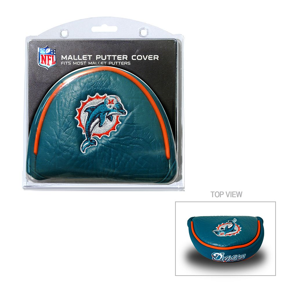 Team Golf Miami Dolphins Mallet Putter Cover