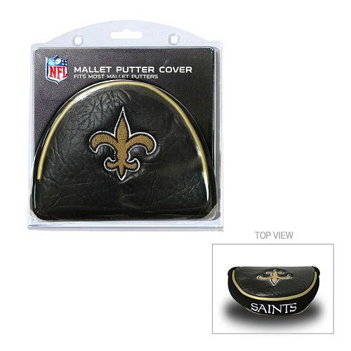 Team Golf New Orleans Saints Mallet Putter Cover