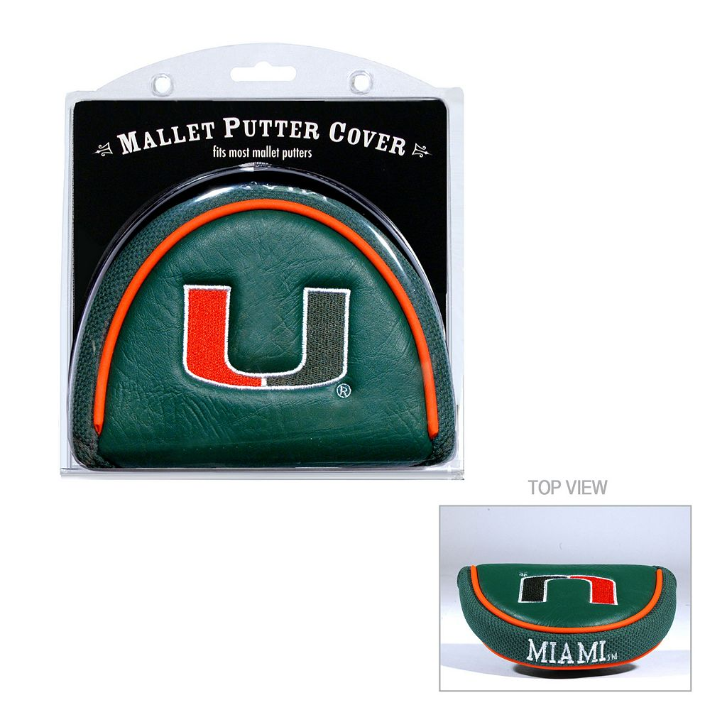 Team Golf Miami Hurricanes Mallet Putter Cover