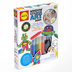 ALEX Window Sticker Art Zoom