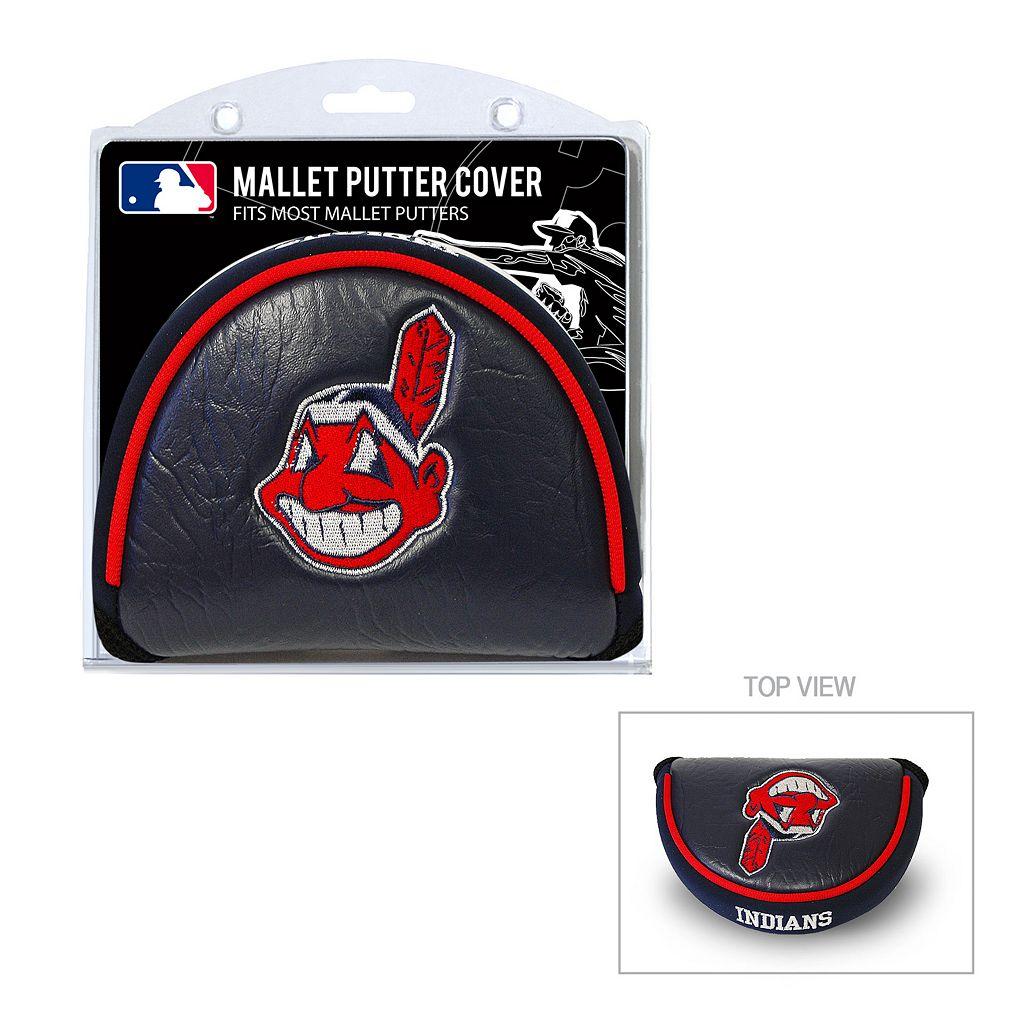 Team Golf Cleveland Indians Mallet Putter Cover