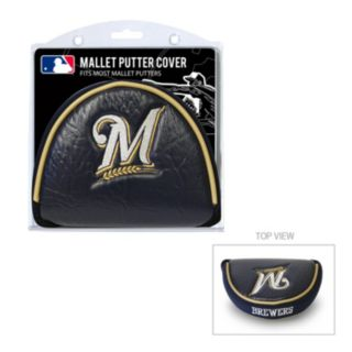 Team Golf Milwaukee Brewers Mallet Putter Cover