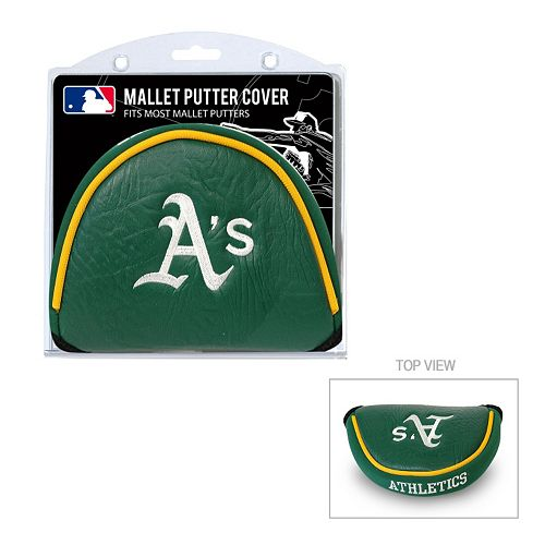 Team Golf Oakland Athletics Mallet Putter Cover