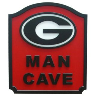 Georgia Bulldogs Man Cave Shield Wall Art