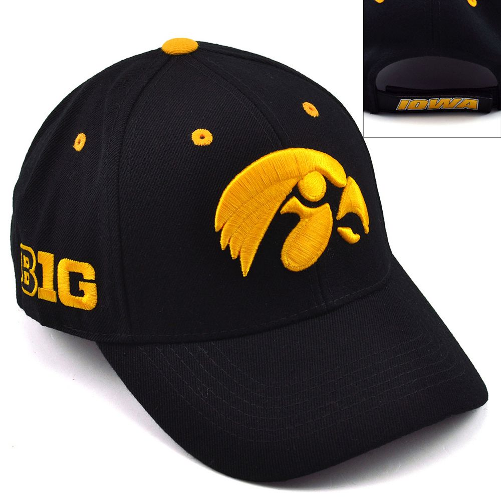 Top of the World Iowa Hawkeyes Triple Conference Baseball Cap - Adult