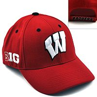 Top of the World Wisconsin Badgers Triple Conference Baseball Cap - Adult