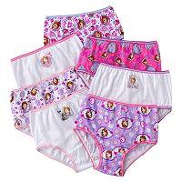 Disney's Sofia the First Toddler 7-pk. Briefs