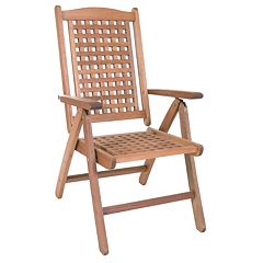 Amazonia Portoreal Outdoor Folding Arm Chair