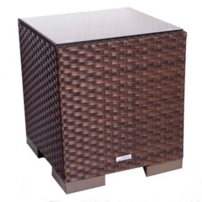 Atlantic Bellagio Outdoor Wicker Side Table