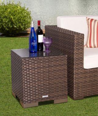 Atlantic Bellagio Outdoor Wicker Side Table