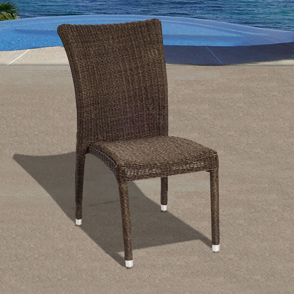 Atlantic 4-pc. Bari Wicker Outdoor Chair Set