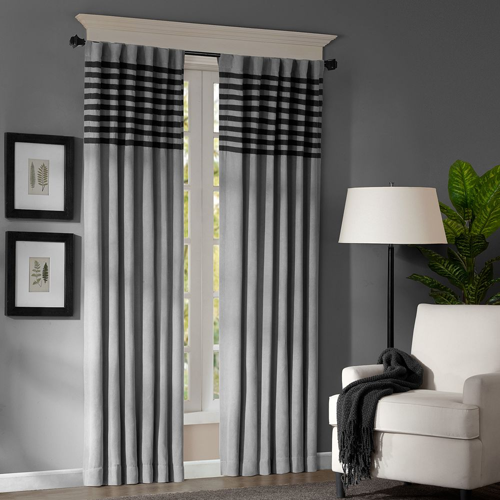 "Madison Park 2-pack Meyers Window Curtains - 42"" x 63"""
