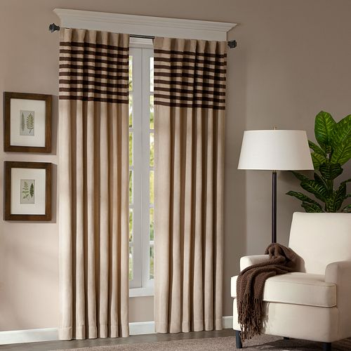 "Madison Park 2-pack Dune Window Curtains - 42"" x 95"""