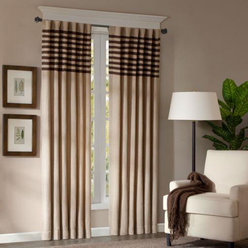 "Madison Park 2-pack Dune Window Curtains - 42"" x 95"""