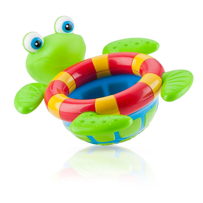 bath toys nuby tub the floating bath turtle multicolor was listed for on 14 mar at 22. Black Bedroom Furniture Sets. Home Design Ideas