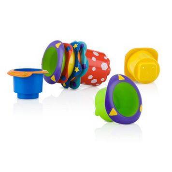 Nuby 5-pk. Stackable Bath Cups