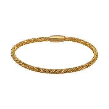 Gold Tone Stainless Steel Bracelet
