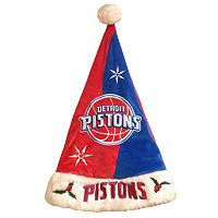 Adult Forever Collectibles Detroit Pistons Santa Hat