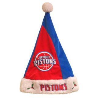 Adult Forever Collectibles Detroit Pistons Santa Hat