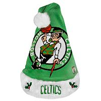 Adult Forever Collectibles Boston Celtics Colorblock Santa Hat