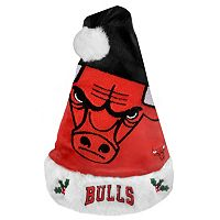 Adult Forever Collectibles Chicago Bulls Colorblock Santa Hat