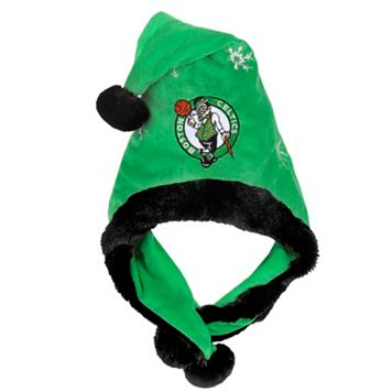 Adult Forever Collectibles Boston Celtics Thematic Santa Hat