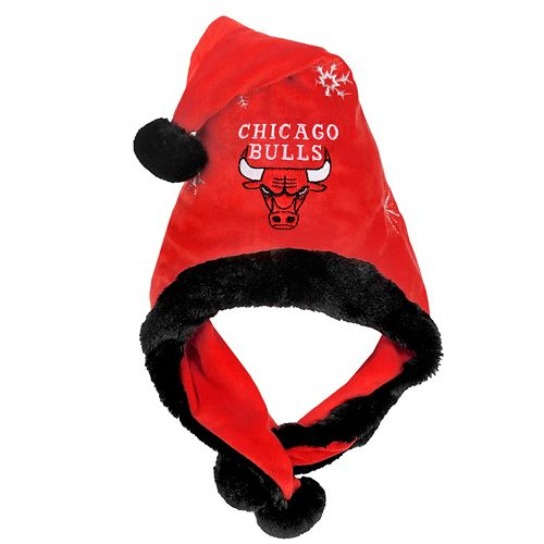 Adult Forever Collectibles Chicago Bulls Thematic Santa Hat