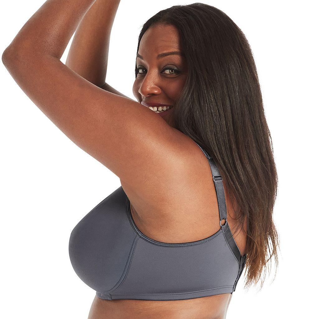 Playtex Bra: 18-Hour Sensationally Sleek Full-Figure Full-Coverage Wireless Bra 4803 - Women's