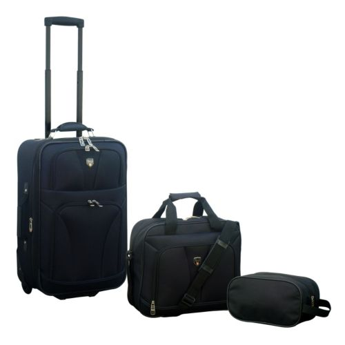 Travelers Club Luggage, 3-pc. Expandable Luggage Set