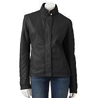 Women's Fleet Street Faux-Leather Jacket