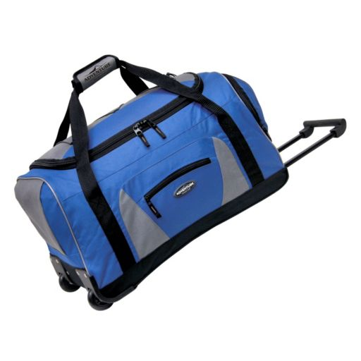 Travelers Club 22-in. Wheeled Duffel Bag