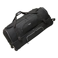Travelers Club 36-in. Drop-Bottom Wheeled Duffel Bag