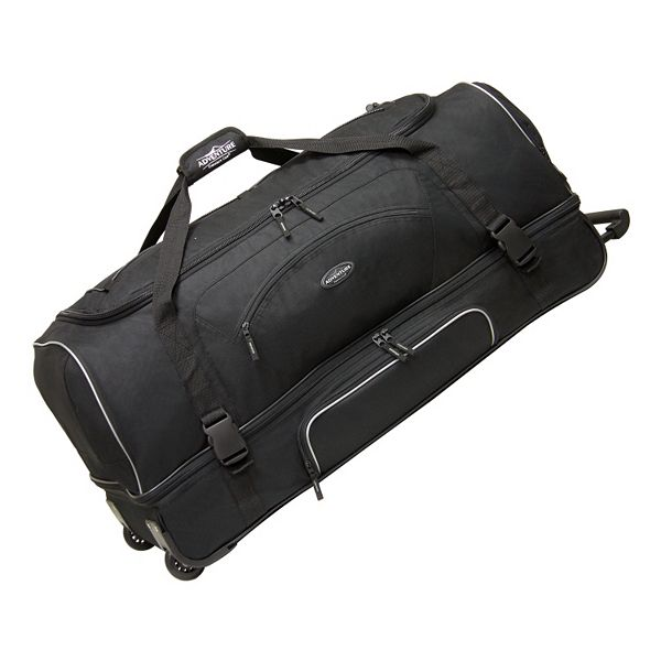 Travelers Club 36 In Drop Bottom Wheeled Duffel Bag