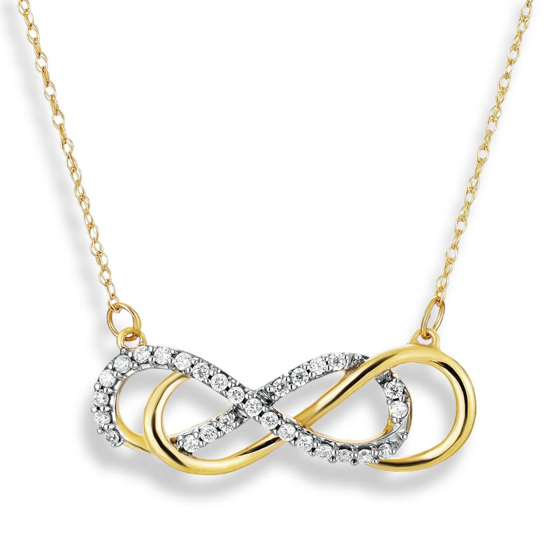 infinity necklaces kohls images