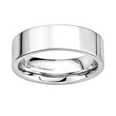Cobalt Chrome Wedding Band Men