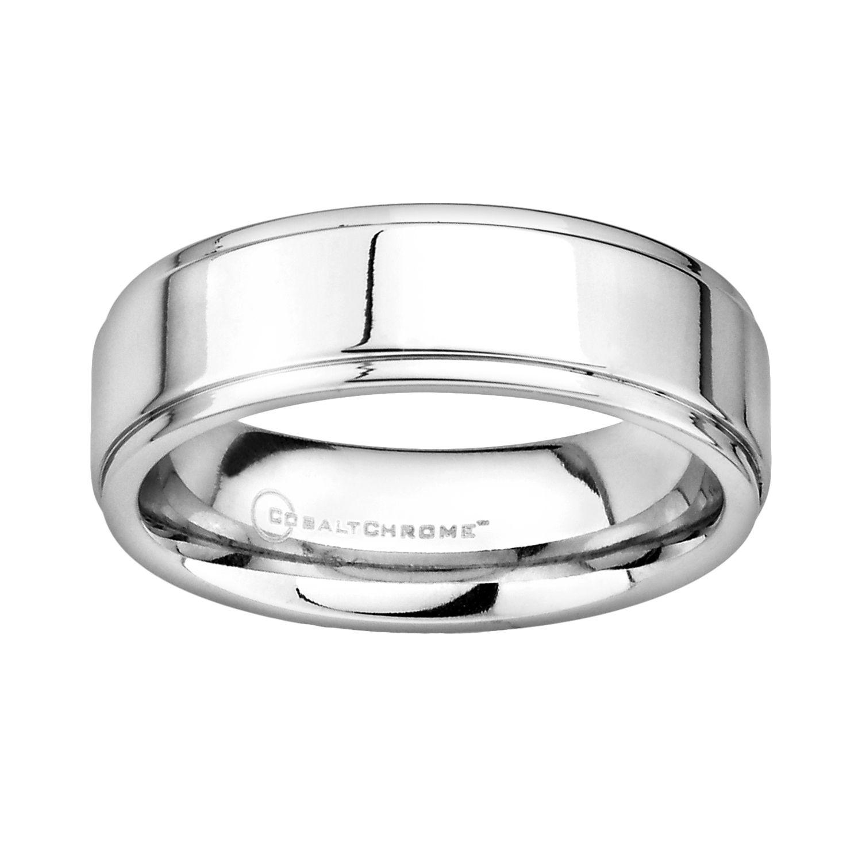 Wedding bands cobalt chrome