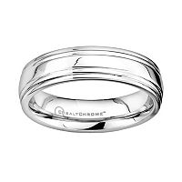 Cobalt Chrome Wedding Band - Men