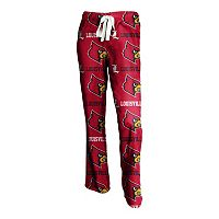 Louisville Cardinals Highlight Fleece Pants - Women's
