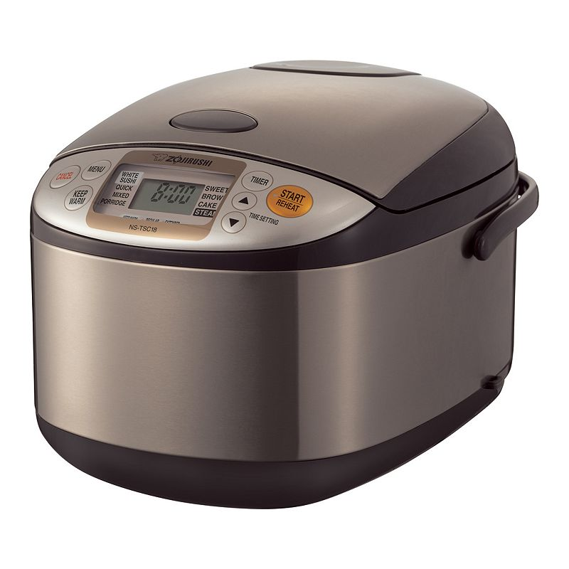 Zojirushi Micom 10-Cup Rice Cooker and Warmer, Brown