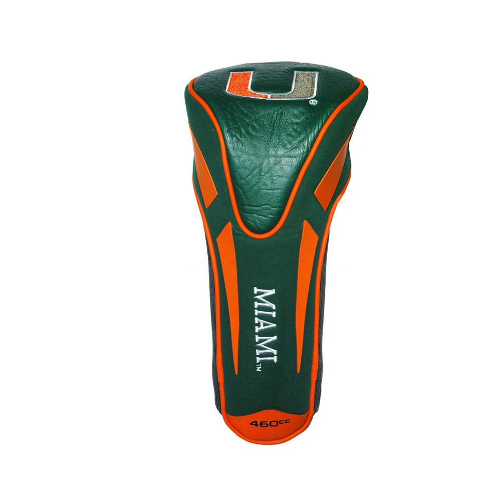 Miami Hurricanes Single Apex Head Cover