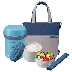 Zojirushi Ms. Bento Lunch Jar & Tote Set