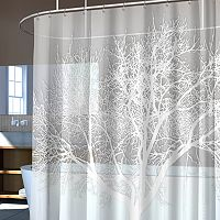 Splash Home Tree Vinyl Shower Curtain