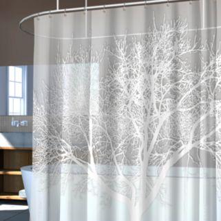 Splash Home Tree Vinyl Shower Curtain