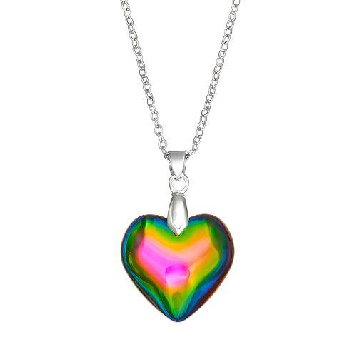 Mudd® Silver Tone Heart Pendant