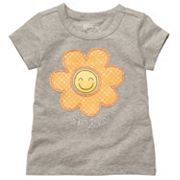 OshKosh B'gosh Floral Tee- Toddler
