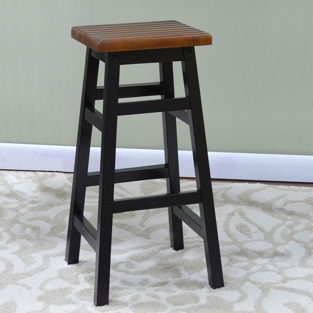 Carolina Cottage Colby Stave Bar Stool