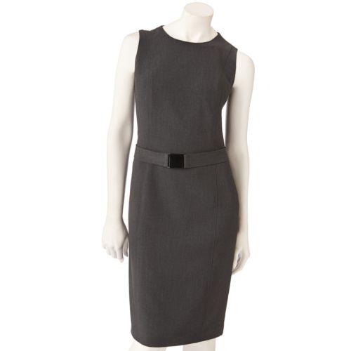 Vicky Tiel Solid Sheath Dress - Women's