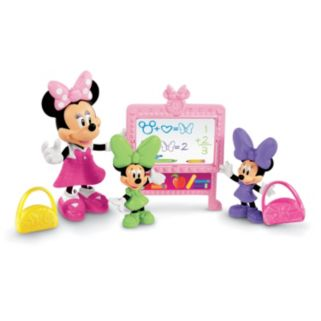 Disney Mickey Mouse and Friends Minnie Mouse Bow-tique Minnie's School Day Set by Fisher-Price