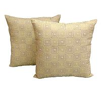 Essentials City Embroidered 2 pkDecorative Pillows